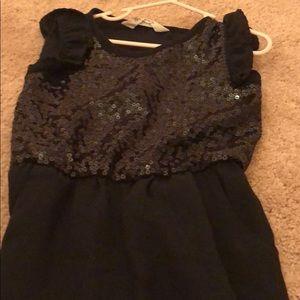 HM Kids Black Sequin jumpsuit